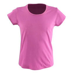 T-shirt korte mouwen gym meisjes - 569479