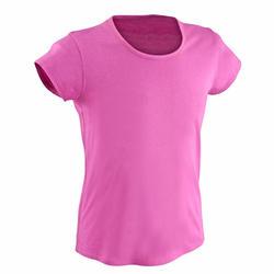 T-shirt korte mouwen gym meisjes - 569481
