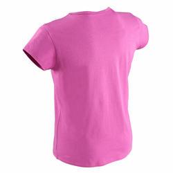 T-shirt korte mouwen gym meisjes - 569482