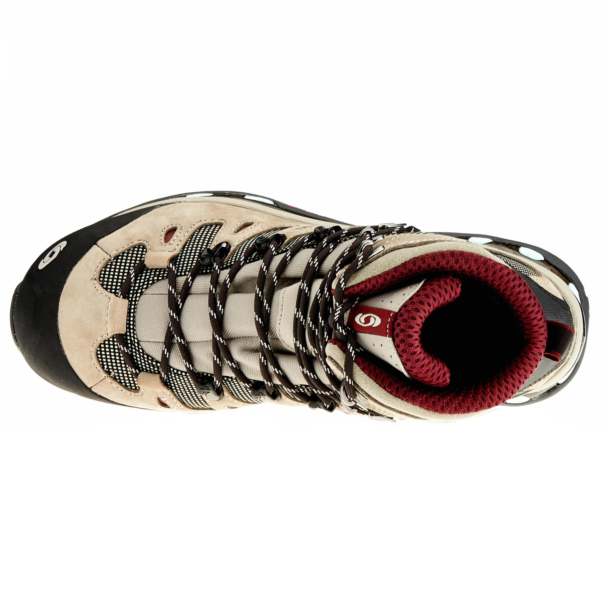 4d Randonnée Femme Quest Tige Gore De Tex Haute Salomon Chaussures HIWE29D