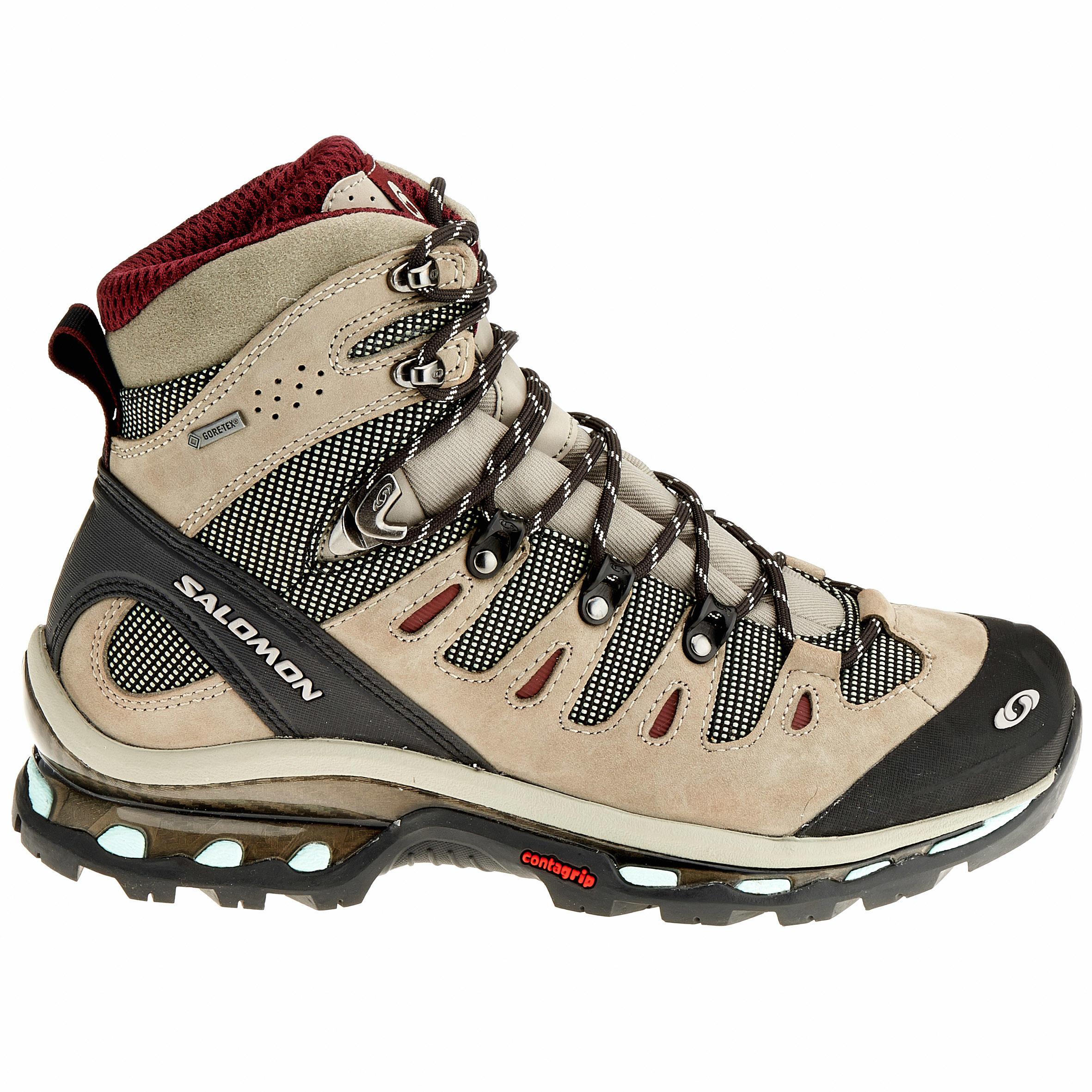 wholesale dealer 7a485 5d581 Haute 4d De Tex Randonnée Quest Femme Salomon Gore Tige Chaussures TqP0t