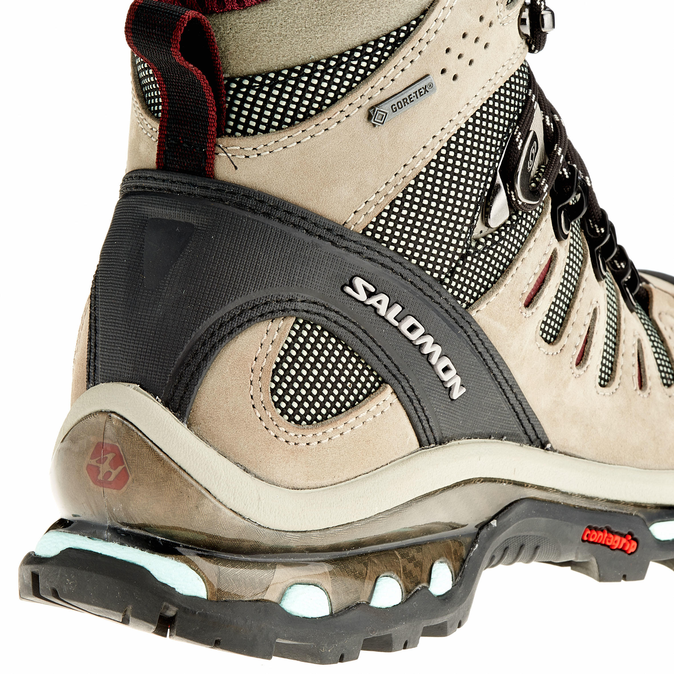 Tige Salomon Randonnée Femme Haute Chaussures Tex Quest Gore De 4d T3lFKJc1