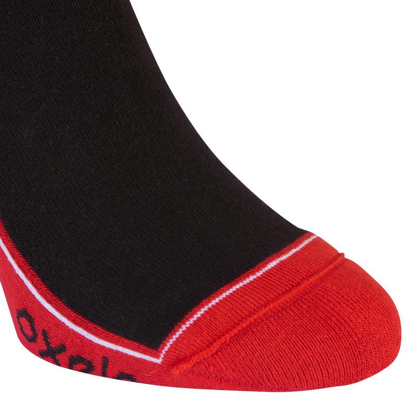 Play Kids' Inline Skating Socks - Black/Red