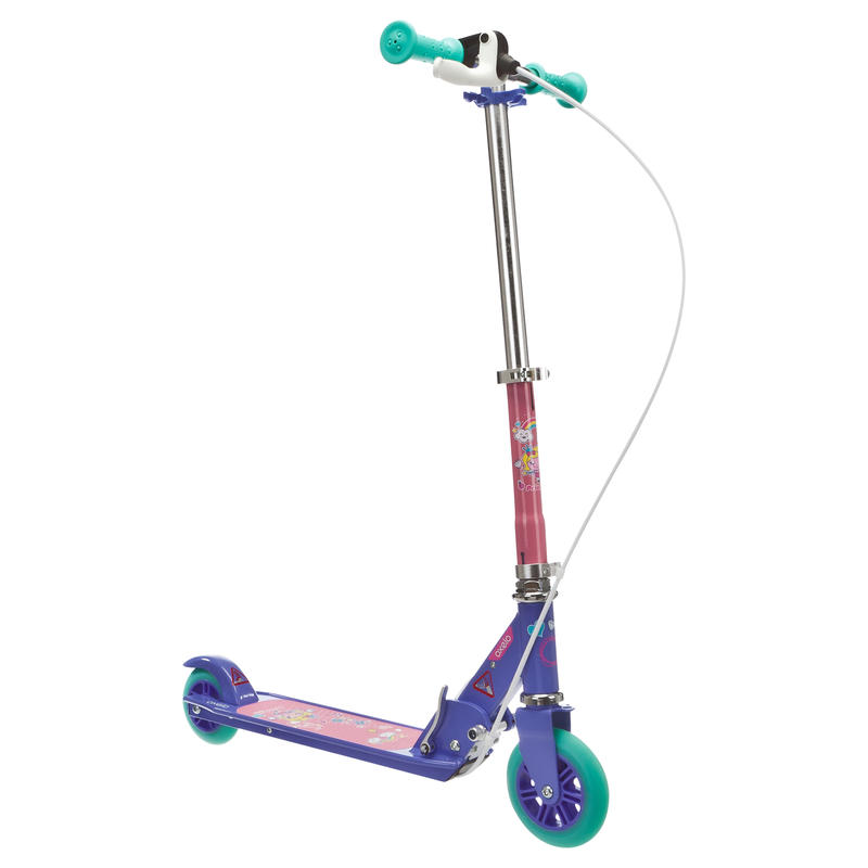 Xe trượt scooter Play 5 cho trẻ em - Hồng/ Tím