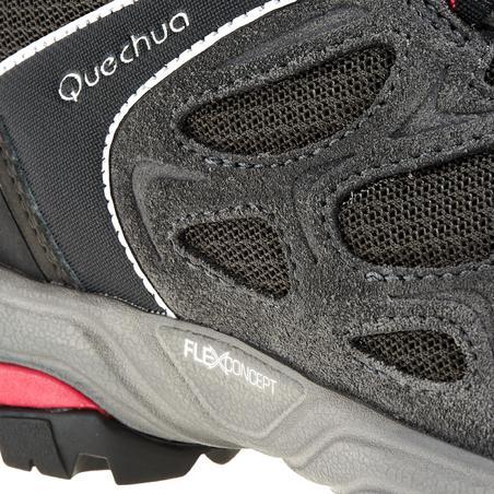 Forclaz Flex 3 Women's Mountain Hiking Boot – Grey Pink