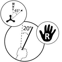 Boemerang Bsoft, voor rechtshandigen - 571424