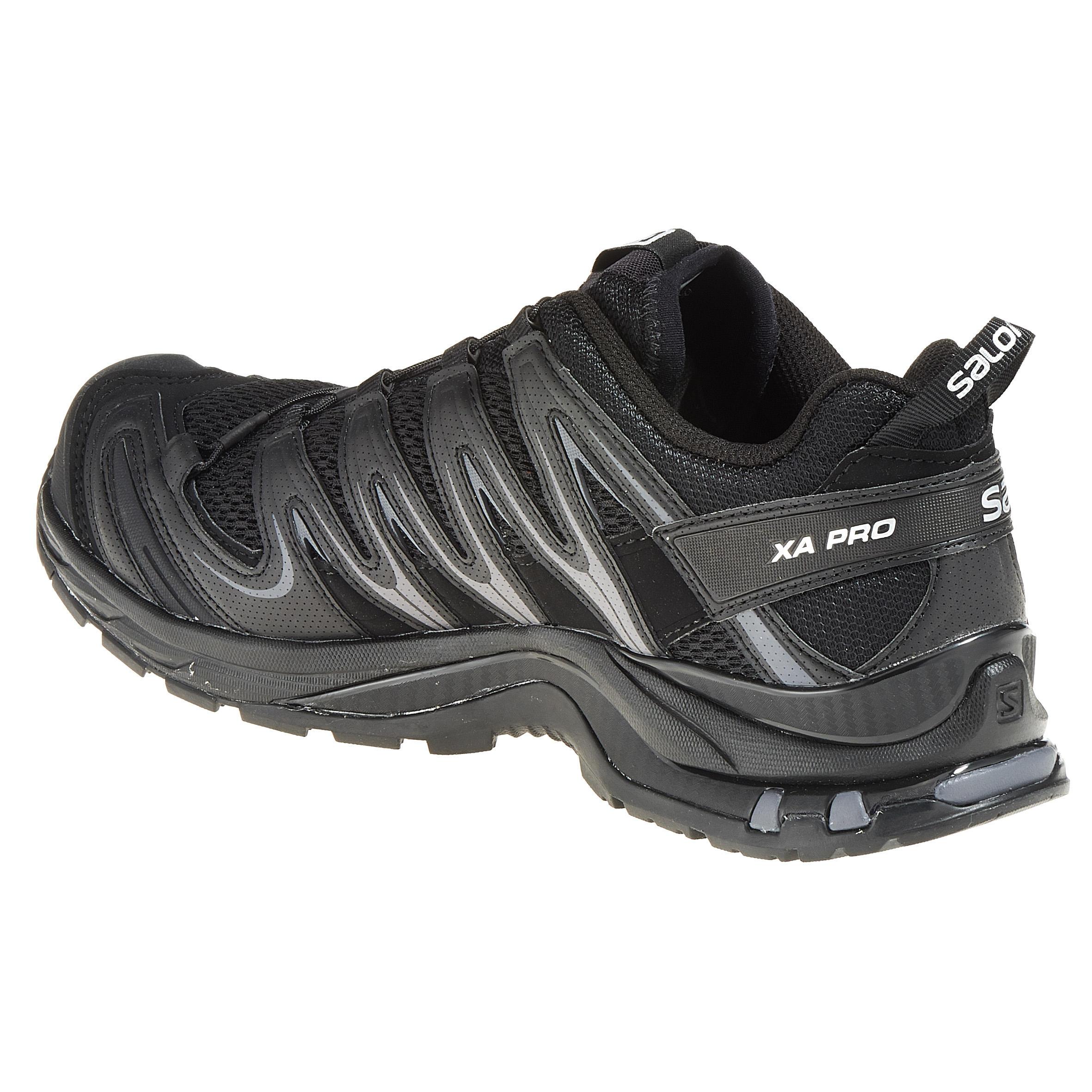 Salomon Noir Pro Chaussure 3d Homme Mountain Trail Xa vN0Omw8n