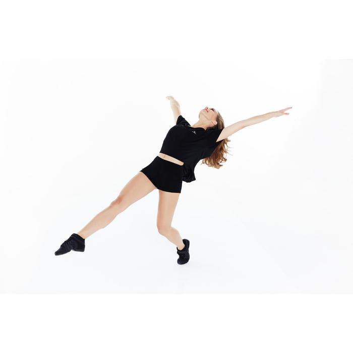 Short danza mujer negro