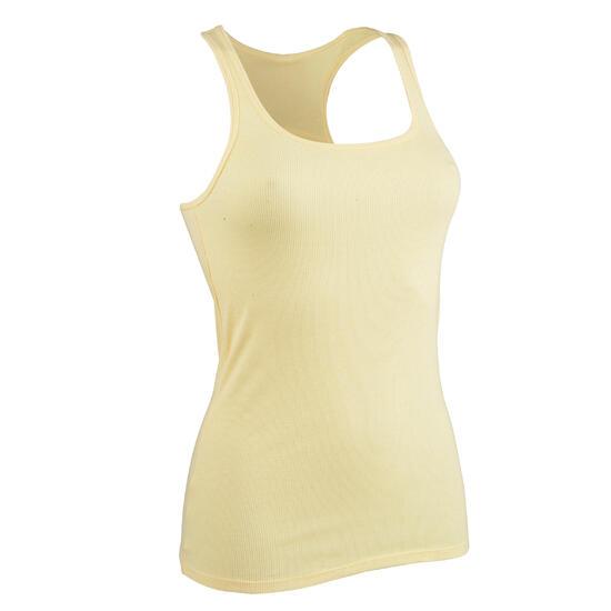 Topje voor gym & pilates dames gemêleerd - 571977