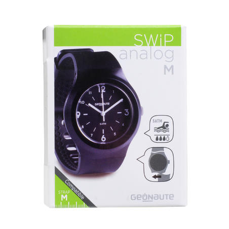 A300 M Swip Analogue Sport Watch - Black
