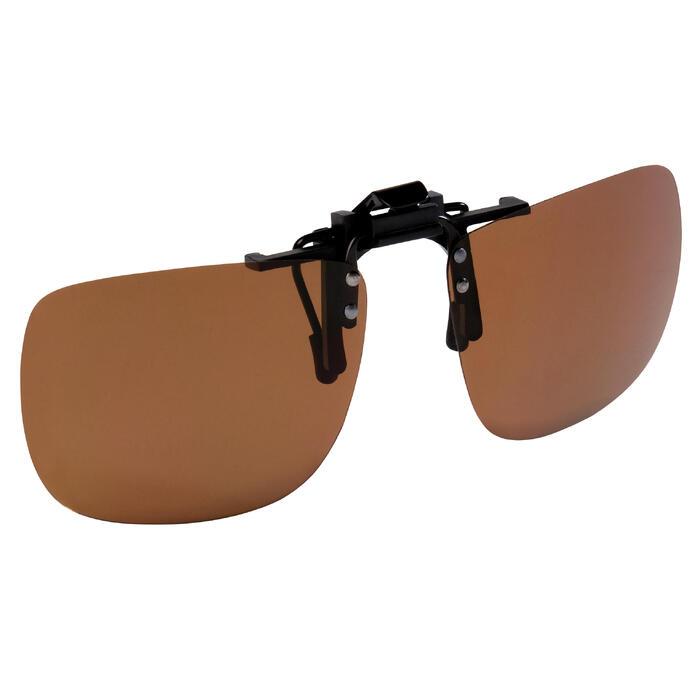 Polariserende opzetbril voor hengelsport Duskybay 100 Clip On