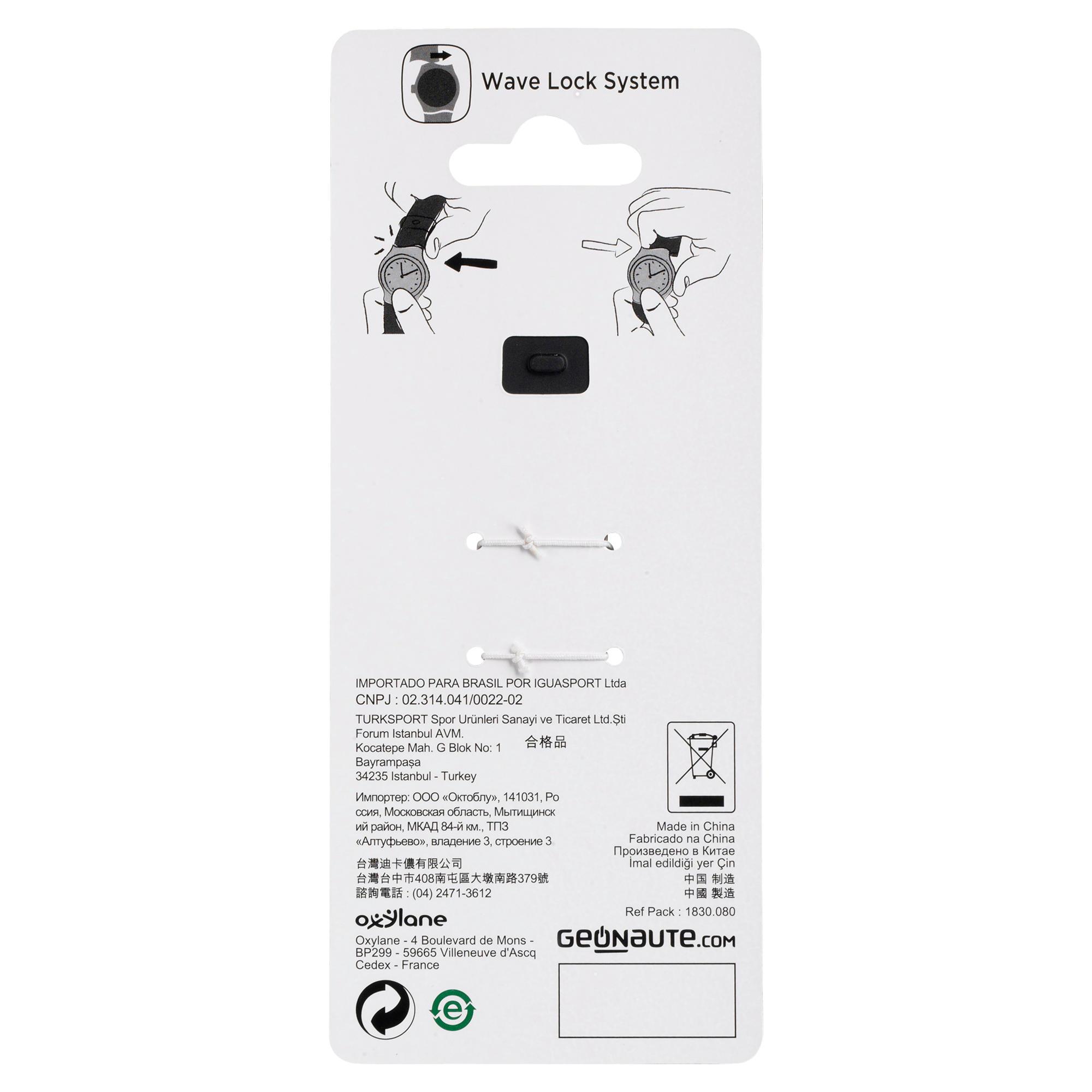 Watch strap compatible W500, W700 et W900 - Black