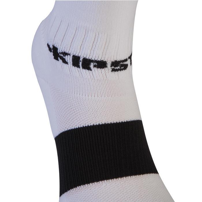 Chaussettes de football adulte F500 blanche