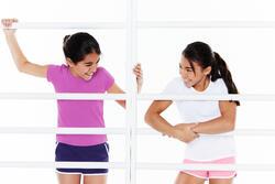 T-shirt korte mouwen gym meisjes - 573052