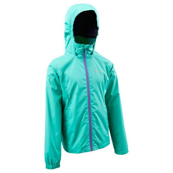 Regenjas voor trekking meisjes Hike 500 - 573482