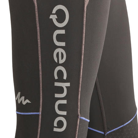 Mountain Trail 500 Women's tights - black and purple