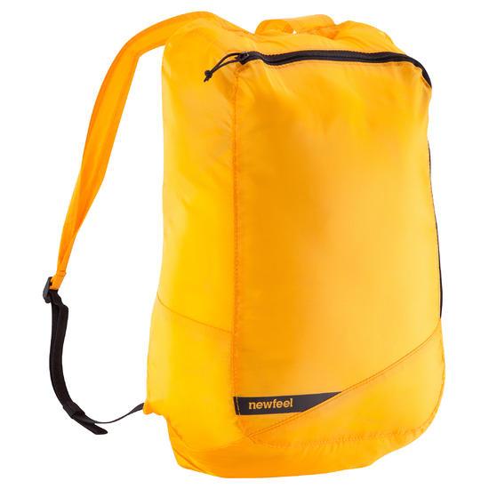 Kleine opvouwbare rugzak voor dagelijks gebruik Pocket Bag blauw met pijlen - 573956