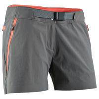 Forclaz 900 women's shorts - grey