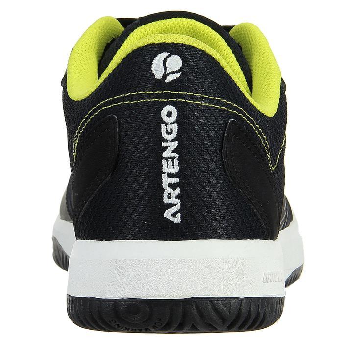 Tennisschoenen heren TS710 zwart/geel