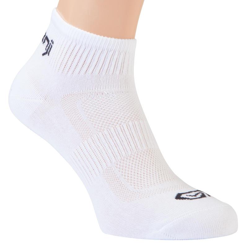 ถุงเท้าวิ่งสำหรับเด็กแพ็คละ 2 คู่ (สีขาว)