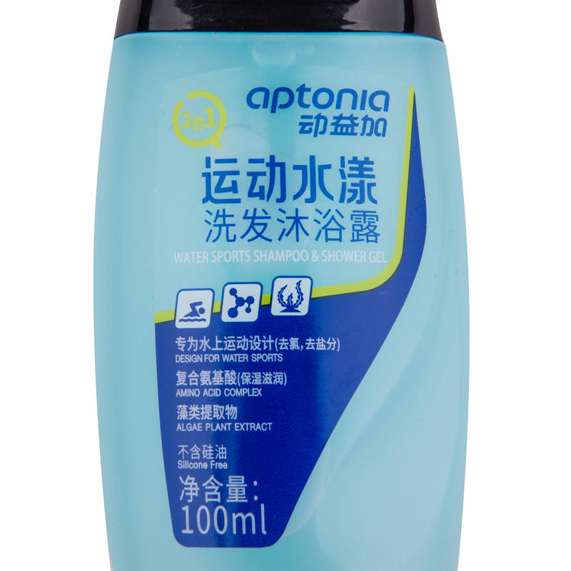 2-in-1 Swimming Shower Gel + Shampoo 100 ml