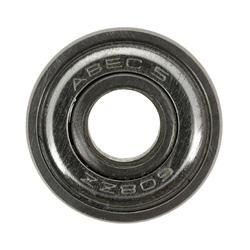 Set 8 rodamientos roller monopatín patinete ABEC 5