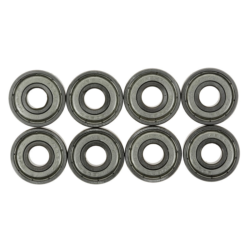 Inline Skate, Skateboard, and Scooter Bearings 8-Pack - ABEC 7