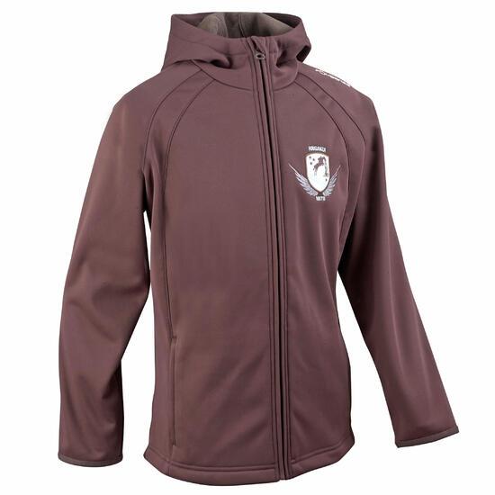 Softshell jas voor kinderen, ruitersport - 579566