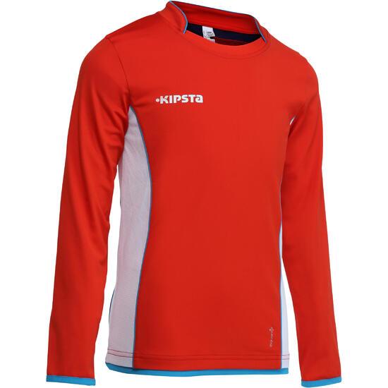 Voetbalshirt met lange mouwen voor kinderen F500 - 58023