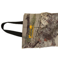 HUNTING GLOVES 100 THIN STRETCH - WOODLAND CAMOUFLAGE