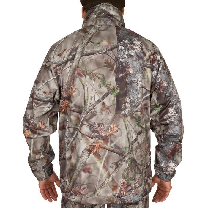 Veste Actikam 100 imperméable camouflage marron - 581240