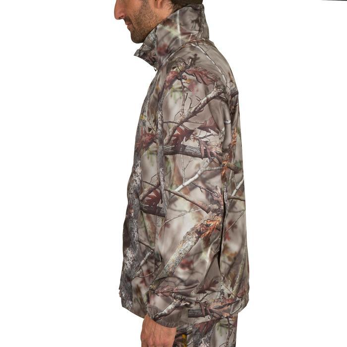 Veste Actikam 100 imperméable camouflage marron - 581241