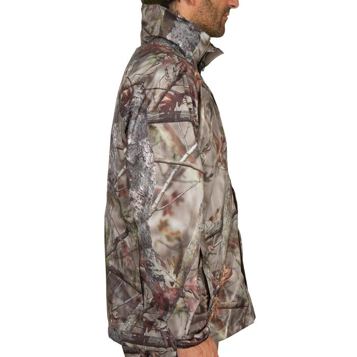 Veste Actikam 100 imperméable camouflage marron - 581242