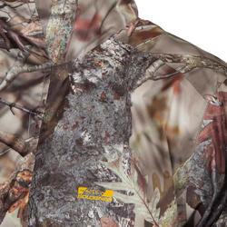 Waterdichte jas Actikam 100 camouflage bruin - 581248