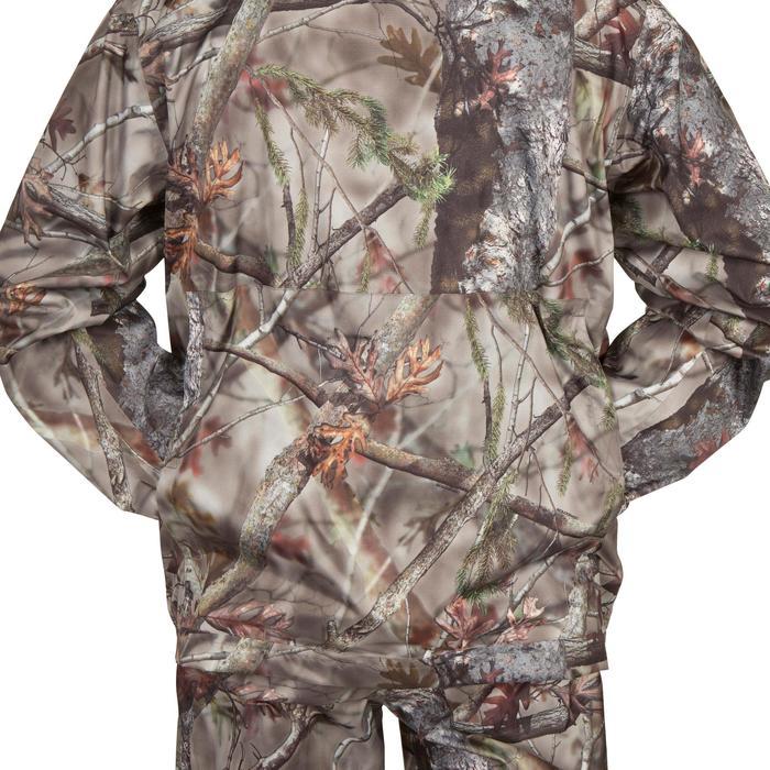 Veste Actikam 100 imperméable camouflage marron - 581249