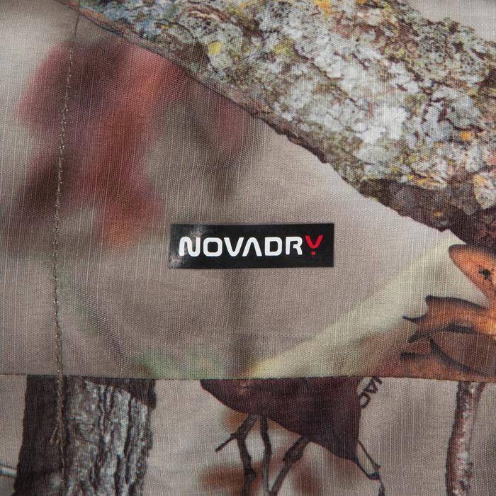 Veste Actikam 100 imperméable camouflage marron - 581257