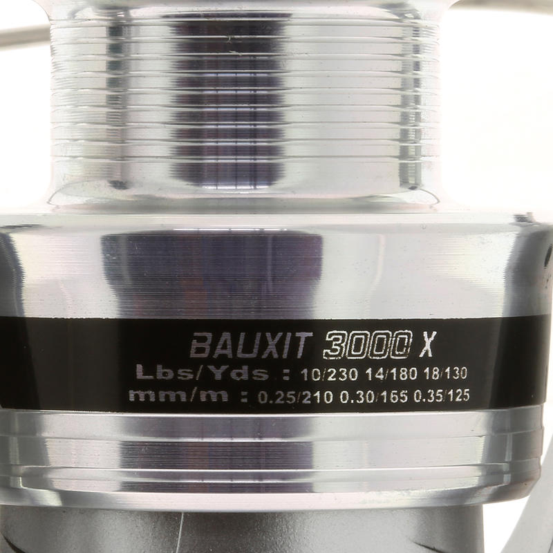 Carrete light pesca lanzar-recoger BAUXIT 3000 X