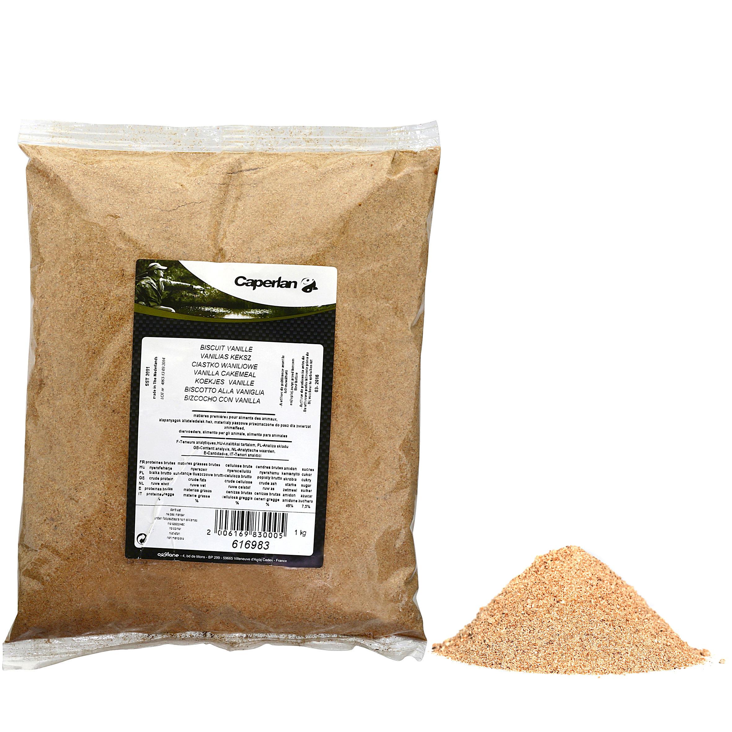 Caperlan Vanillekoekjesmeel voor statisch vissen 1 kg