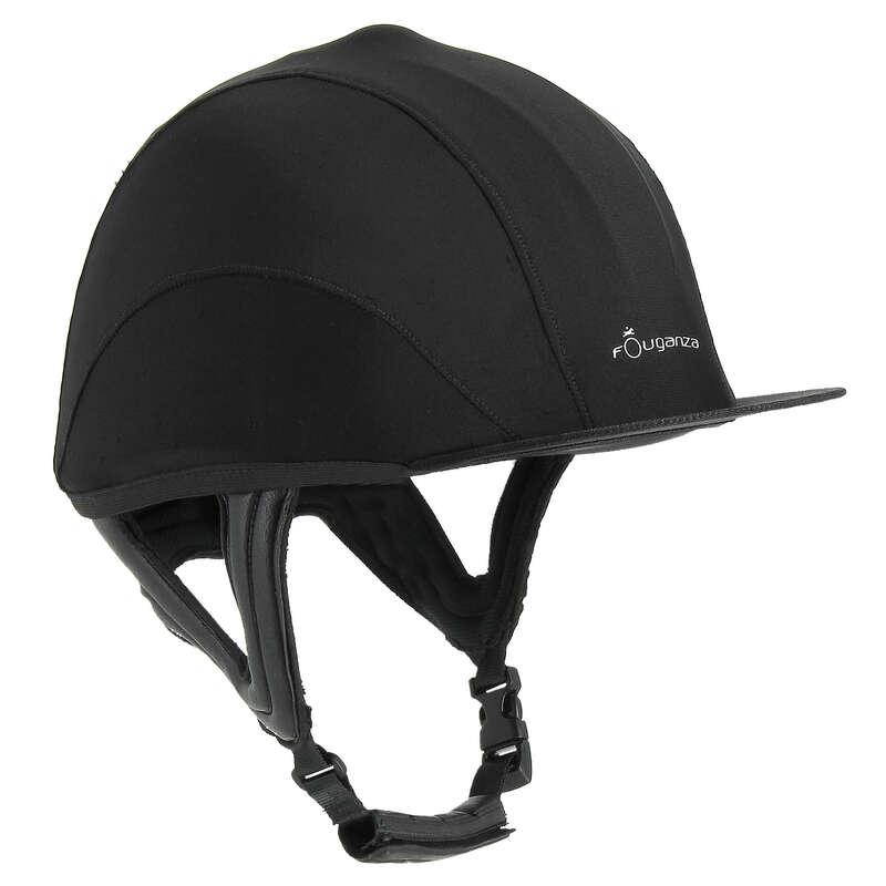 RIDER HELMETS - C700 Cross Helmet - Black FOUGANZA