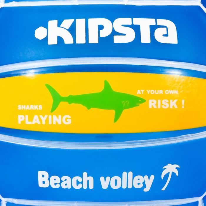 Mini ballon de beach-volley BV100 jaune et - 582204