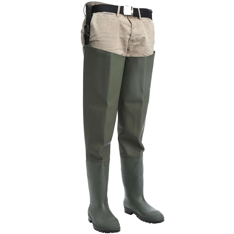 THIGH WADERS Fishing - Fishing waders T-WDS-1 CAPERLAN - Fishing