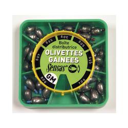 Visloodjes olivettes statisch vissen/matchvissen/quiver/bolognese XL doos