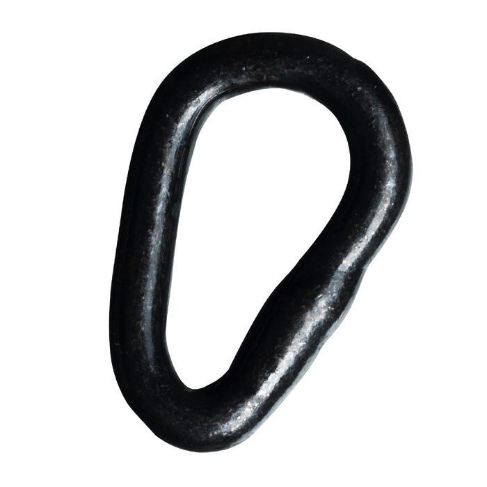 Brede ovalen ring karpervissen