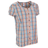 Arpenaz 400 lady shirt - orange