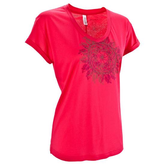 T-shirt korte mouwen trekking dames Arpenaz 100 - 582589