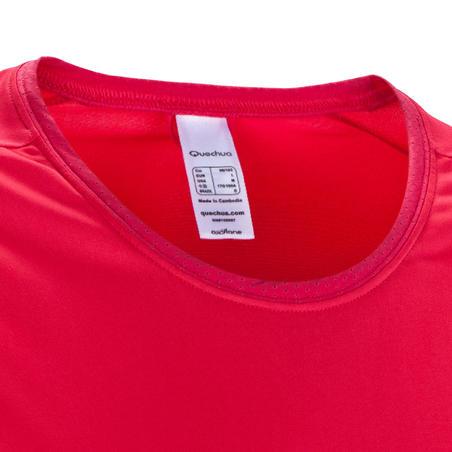 Techfresh 50 Women's Short-Sleeved Hiking T-Shirt - Pink