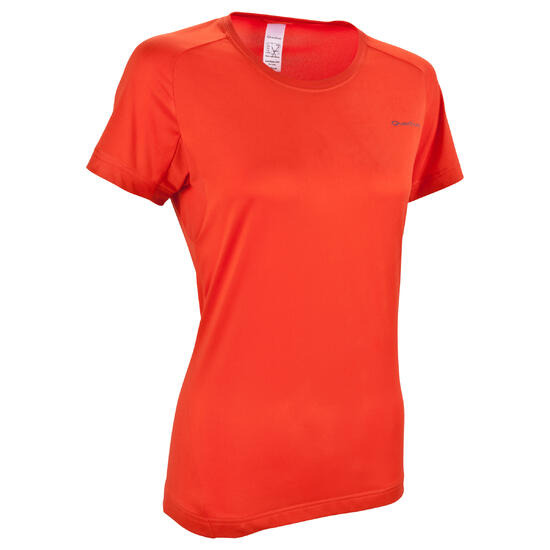 T-shirt korte mouwen trekking Techfresh 50 dames - 582671