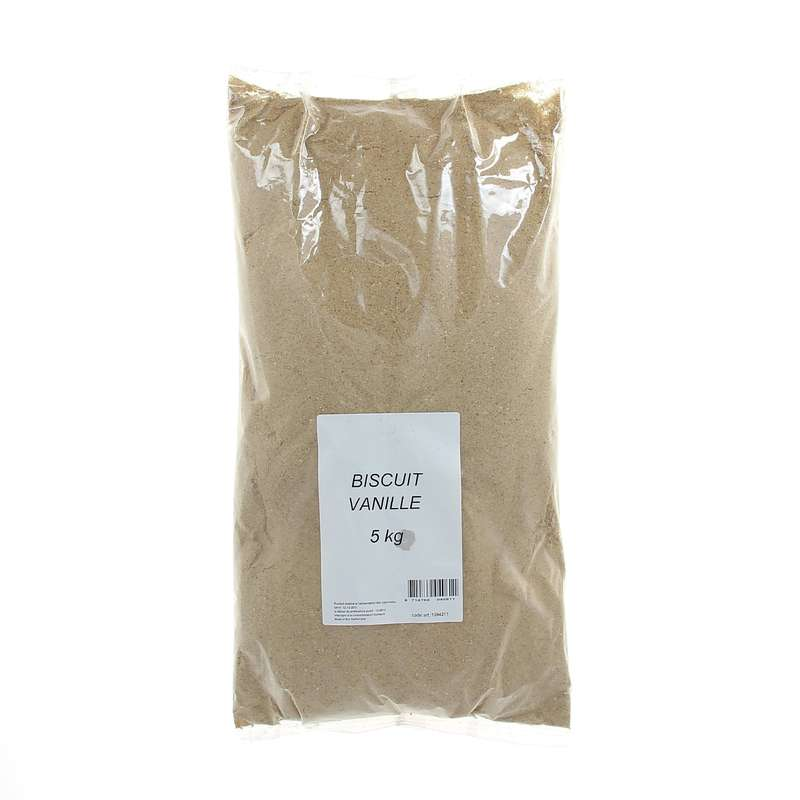 CEREAL CORN BAITS Fishing - Vanilla biscuit 5 kg CAPERLAN - Coarse and Match Fishing