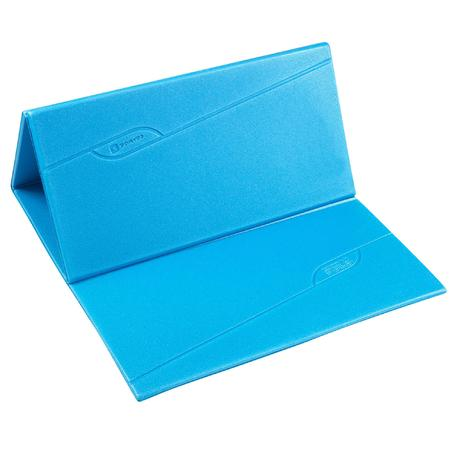 tapis de sol fitness pliable fold bleu domyos by decathlon. Black Bedroom Furniture Sets. Home Design Ideas