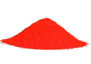 Chapelure rouge